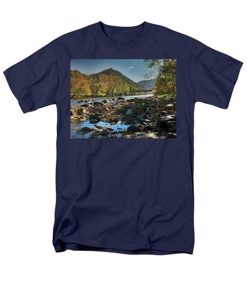 Beautiful Mountaina Men's T-Shirt  (Regular Fit) by Janice Spivey
