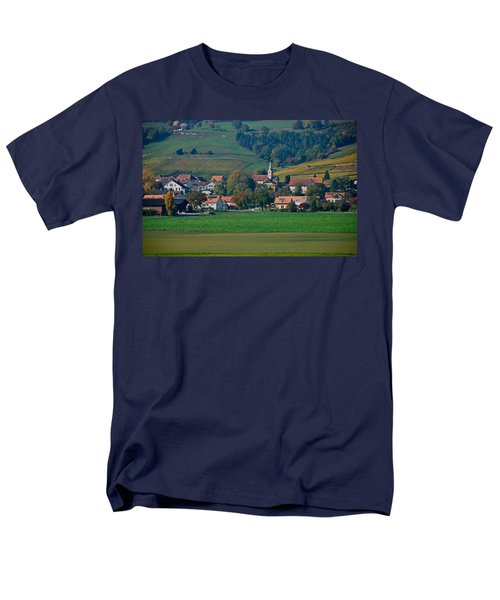 Men's T-Shirt  (Regular Fit) featuring the photograph Bonvillars by Eric Tressler