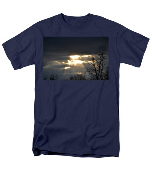 Break In The Clouds Men's T-Shirt  (Regular Fit) by Bonnie Myszka