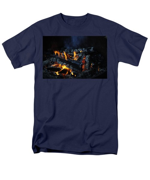 Men's T-Shirt  (Regular Fit) featuring the photograph Campfire by Fran Riley