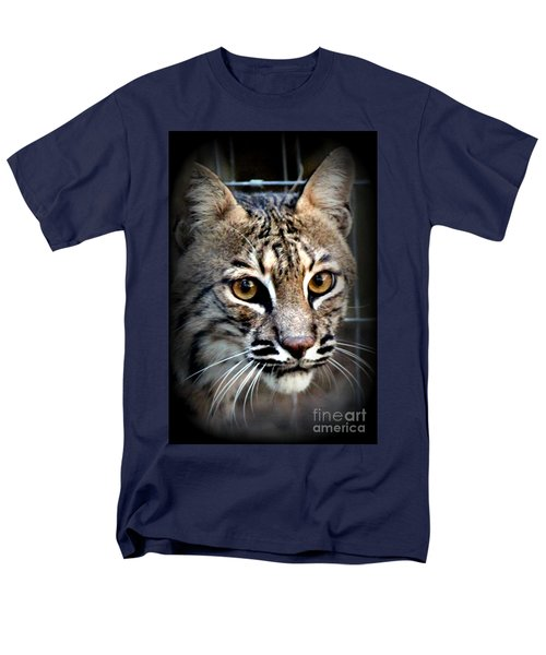 Men's T-Shirt  (Regular Fit) featuring the photograph Cat Fever by Kathy  White