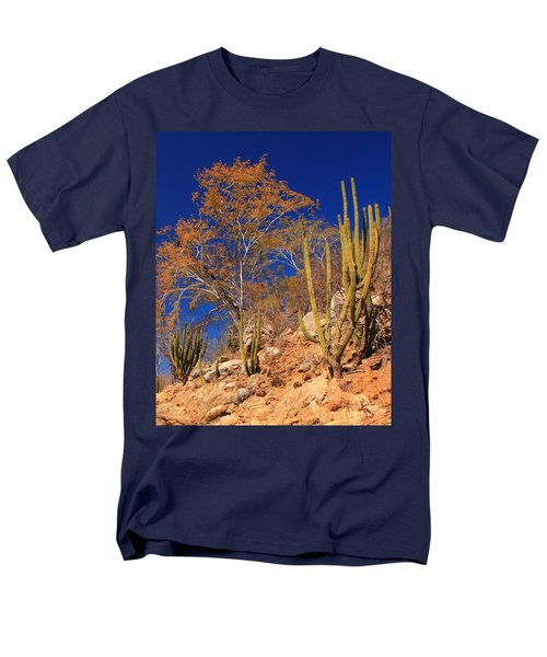 Desert Colors Men's T-Shirt  (Regular Fit) by Roupen  Baker
