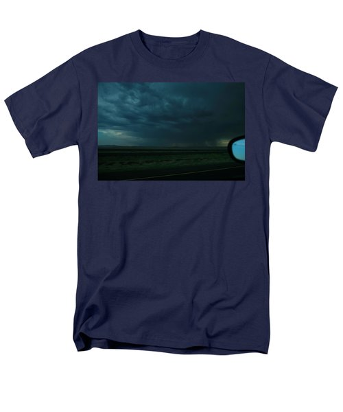 Men's T-Shirt  (Regular Fit) featuring the photograph Driving Rain Number Two by Lon Casler Bixby