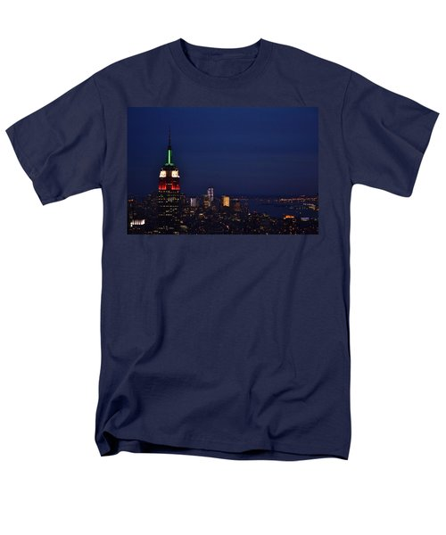 Empire State Building3 Men's T-Shirt  (Regular Fit) by Zawhaus Photography
