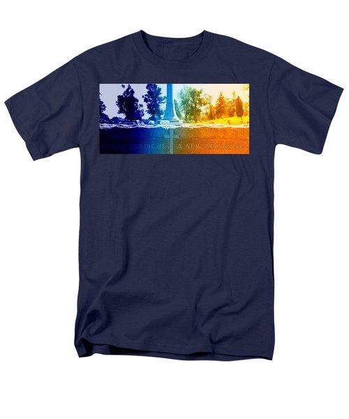 Every Ending Men's T-Shirt  (Regular Fit) by Lisa Brandel