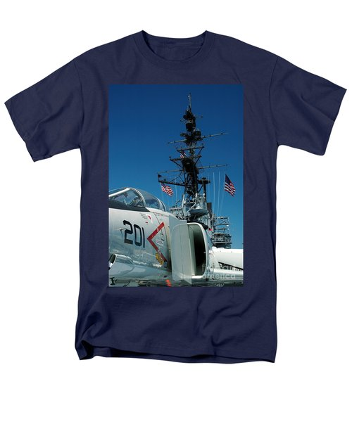 F4-phantom On The Deck Men's T-Shirt  (Regular Fit) by Micah May
