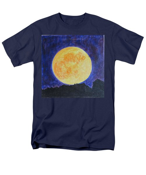 Men's T-Shirt  (Regular Fit) featuring the painting Full Moon by Sonali Gangane