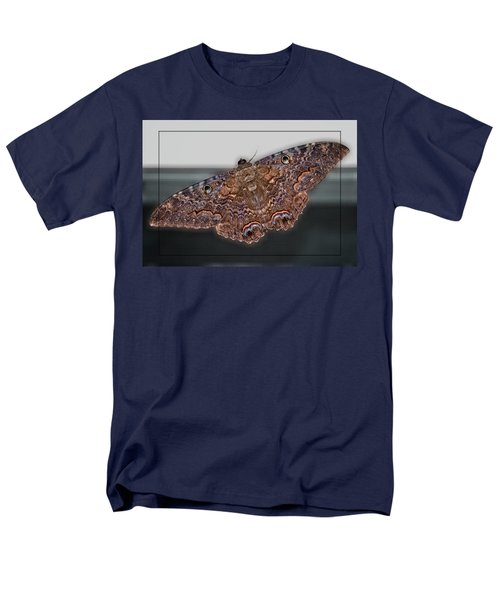 Men's T-Shirt  (Regular Fit) featuring the photograph Giant Moth by DigiArt Diaries by Vicky B Fuller