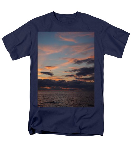 Men's T-Shirt  (Regular Fit) featuring the photograph God's Evening Painting by Bonfire Photography