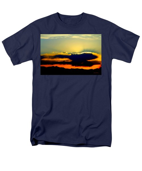 Men's T-Shirt  (Regular Fit) featuring the photograph Heaven Is Watching by Jeanette C Landstrom