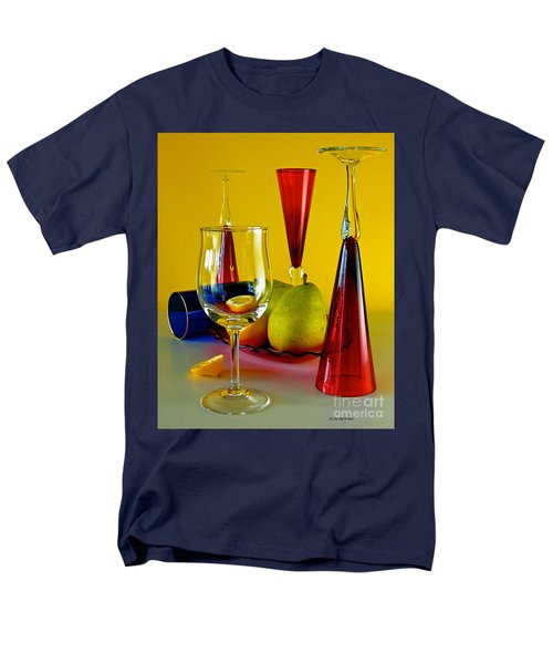 Men's T-Shirt  (Regular Fit) featuring the photograph Honor To  Mondrian  by Elf Evans