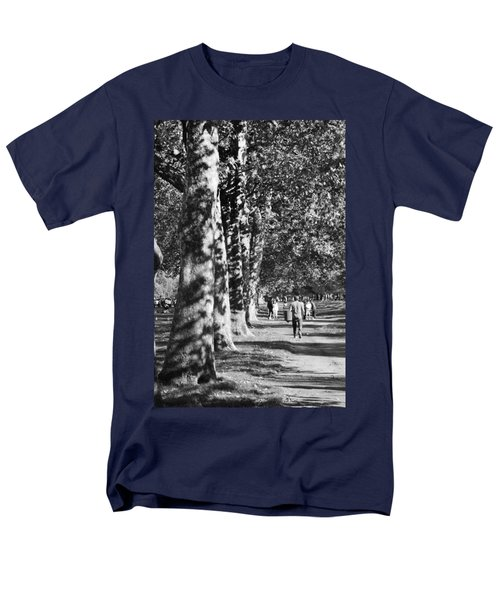 Men's T-Shirt  (Regular Fit) featuring the photograph Hyde Park Trees by Maj Seda