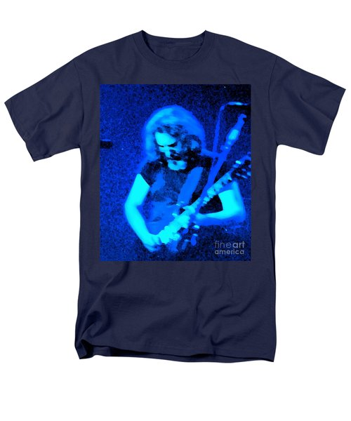 Men's T-Shirt  (Regular Fit) featuring the photograph The Man In Blue by Susan Carella