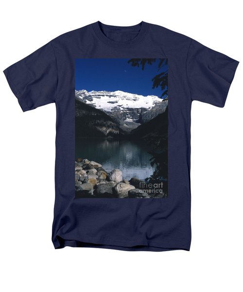 Men's T-Shirt  (Regular Fit) featuring the photograph Lake Louise II by Sharon Elliott
