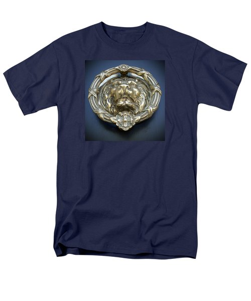 Lions Gate Men's T-Shirt  (Regular Fit) by Jean Haynes