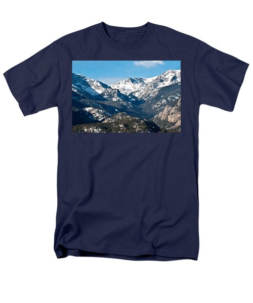 Men's T-Shirt  (Regular Fit) featuring the photograph Majestic Rockies by Colleen Coccia