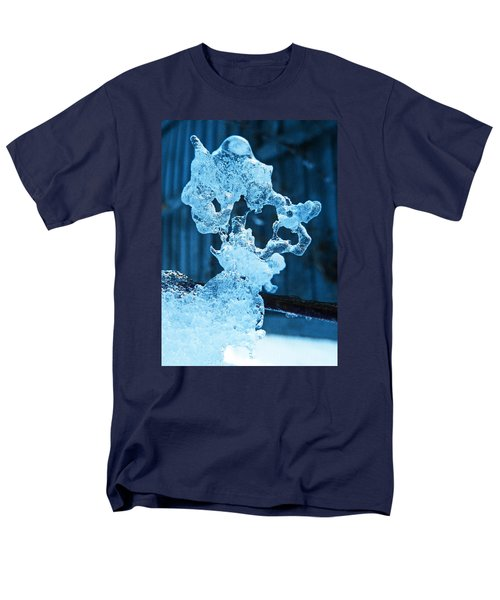 Men's T-Shirt  (Regular Fit) featuring the photograph Meet The Ice Sculpture by Steve Taylor