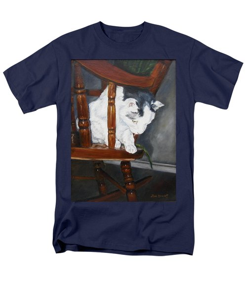 Men's T-Shirt  (Regular Fit) featuring the painting Oops by Lori Brackett