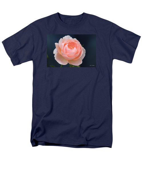 Men's T-Shirt  (Regular Fit) featuring the photograph Peaches And Cream  by Amy Gallagher