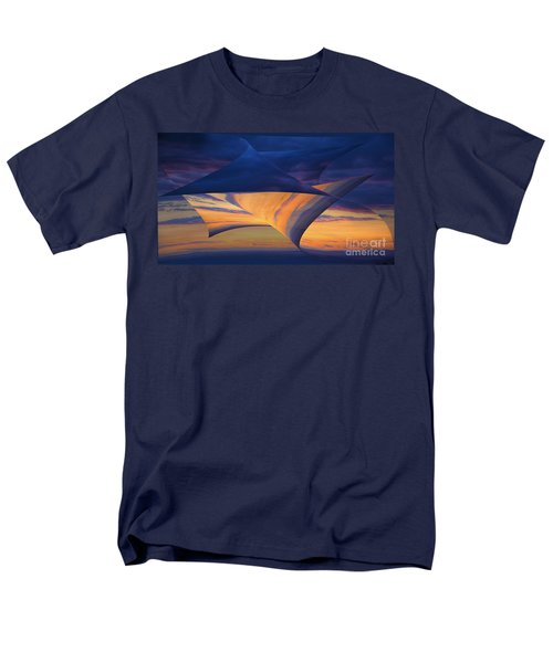 Men's T-Shirt  (Regular Fit) featuring the photograph Peeling Back The Layers by Clare Bambers