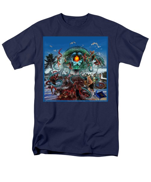 Pollution Shall Thank You Men's T-Shirt  (Regular Fit) by Tony Koehl