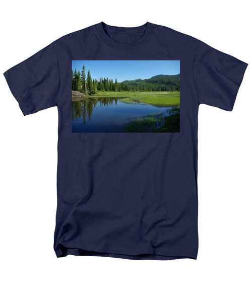 Pond Reflection Men's T-Shirt  (Regular Fit) by Marilyn Wilson