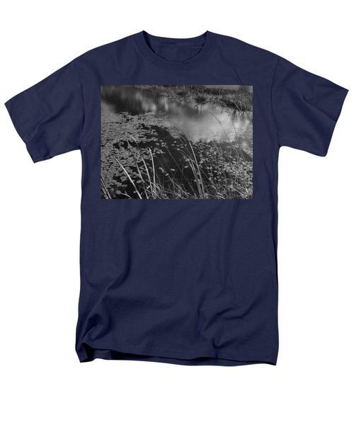 Men's T-Shirt  (Regular Fit) featuring the photograph Reflections In The Pond by Kathleen Grace