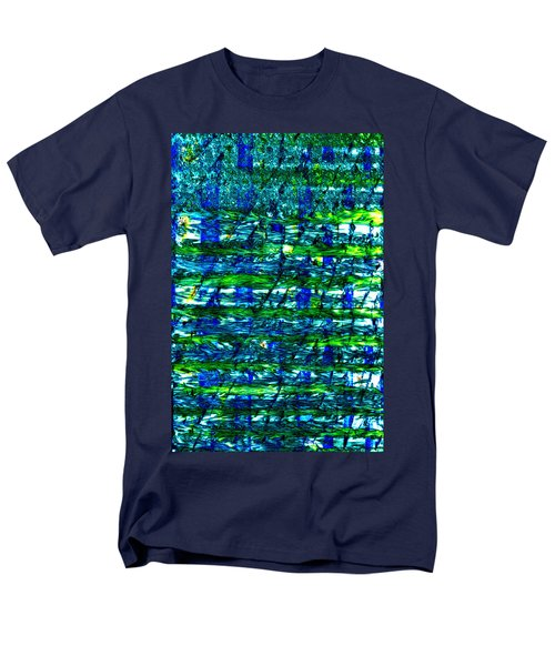 Men's T-Shirt  (Regular Fit) featuring the mixed media Rice Harvest by Terence Morrissey