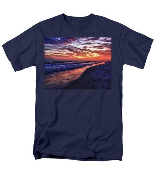 Romar Beach Sunset Men's T-Shirt  (Regular Fit) by Michael Thomas