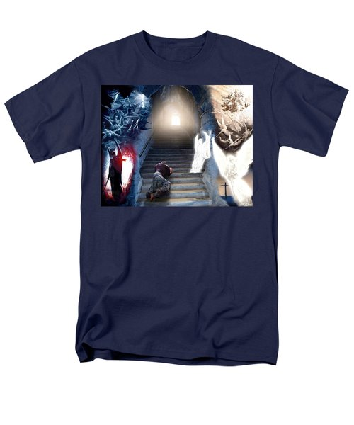 Stairway To Heaven Men's T-Shirt  (Regular Fit) by Bill Stephens