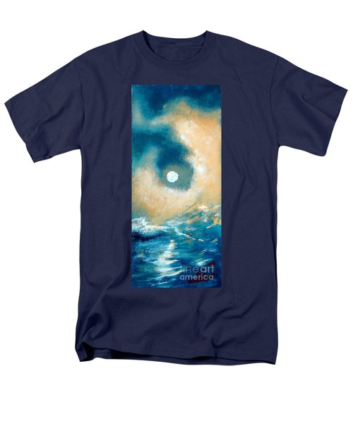 Men's T-Shirt  (Regular Fit) featuring the painting Storm by Ana Maria Edulescu