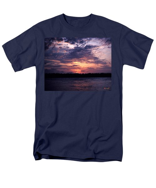 Sunset Off Mallory Square 14s Men's T-Shirt  (Regular Fit) by Gerry Gantt