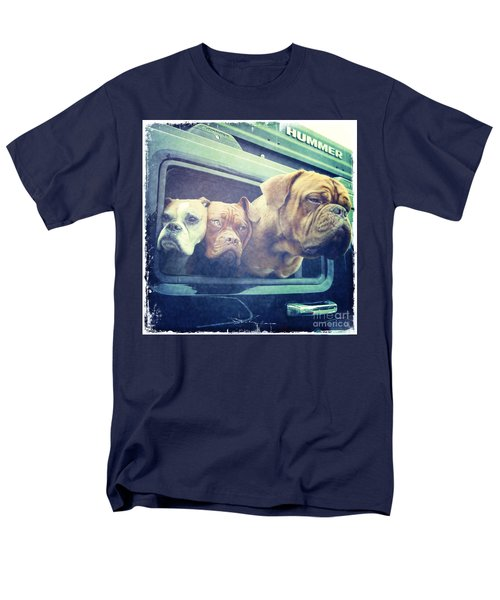 The Dog Taxi Is A Hummer Men's T-Shirt  (Regular Fit) by Nina Prommer