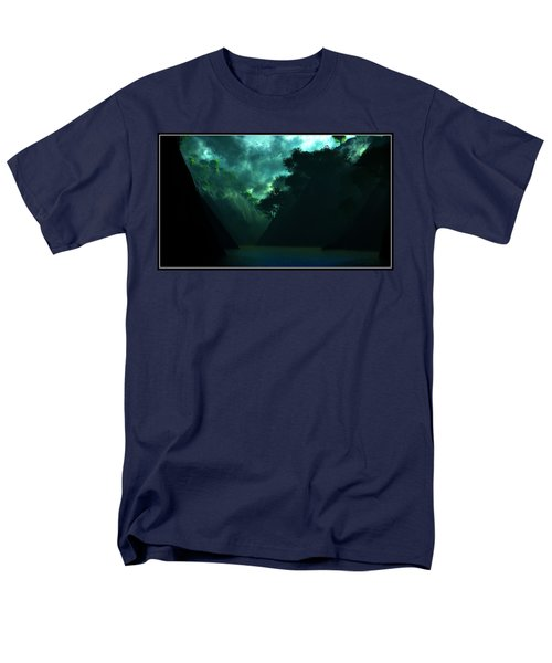 Men's T-Shirt  (Regular Fit) featuring the digital art The Majesty... by Tim Fillingim