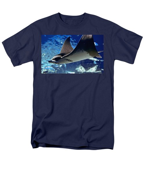 Underwater Flight Men's T-Shirt  (Regular Fit) by DigiArt Diaries by Vicky B Fuller