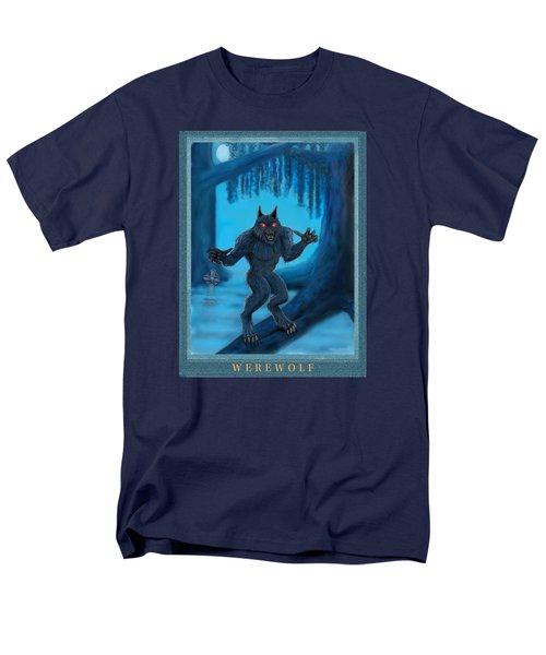 Werewolf Men's T-Shirt  (Regular Fit) by Glenn Holbrook