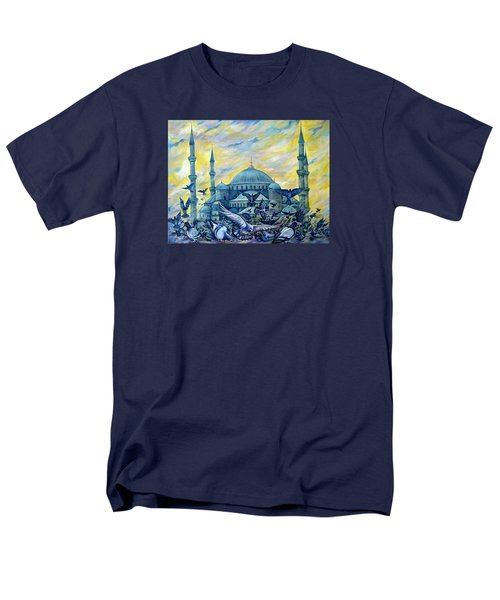 Turkey. Blue Mosque Men's T-Shirt  (Regular Fit) by Anna Duyunova