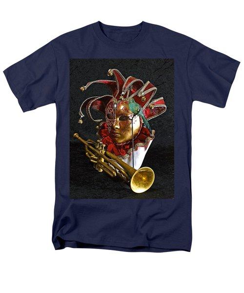 Men's T-Shirt  (Regular Fit) featuring the photograph  Venitian Joker by Elf Evans
