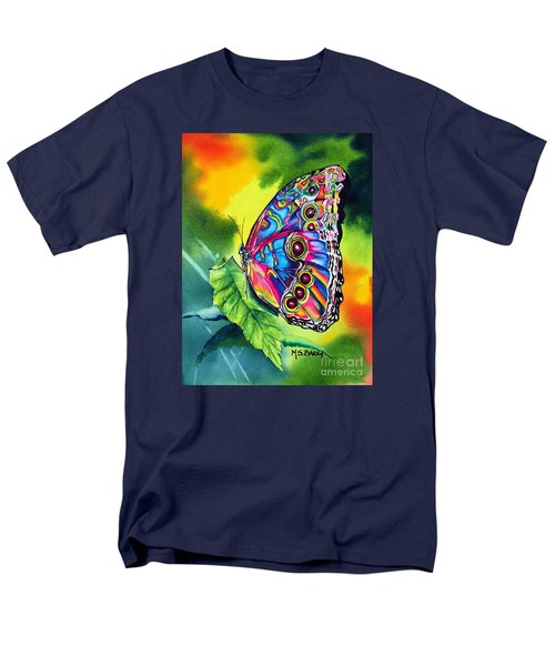 Men's T-Shirt  (Regular Fit) featuring the painting Beatrice Butterfly by Maria Barry