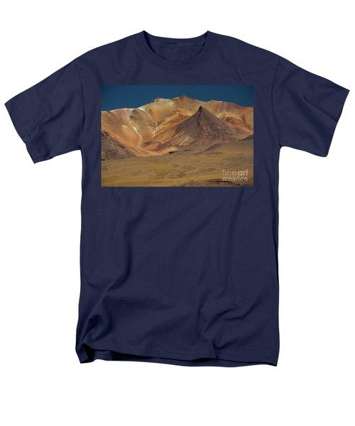Men's T-Shirt  (Regular Fit) featuring the photograph Bolivian Highland by Gabor Pozsgai