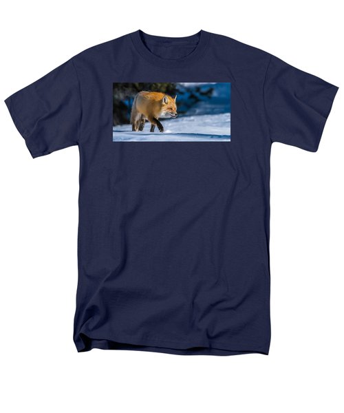 Men's T-Shirt  (Regular Fit) featuring the photograph Handsome Mr. Fox by Yeates Photography