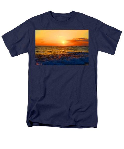 Hawaiian Sunset Men's T-Shirt  (Regular Fit) by Michael Rucker