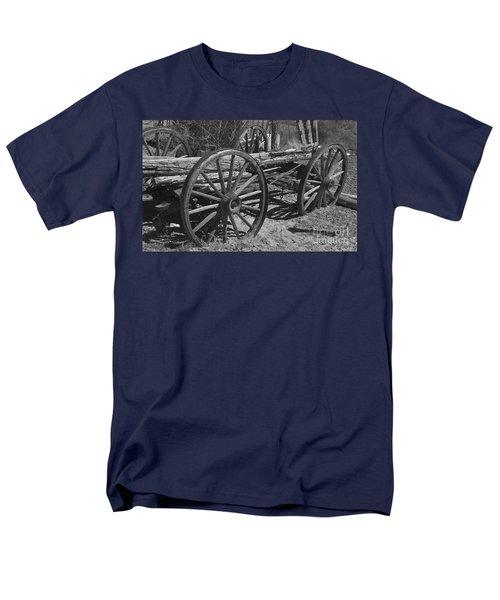 Men's T-Shirt  (Regular Fit) featuring the photograph  Junk Pile by Debby Pueschel