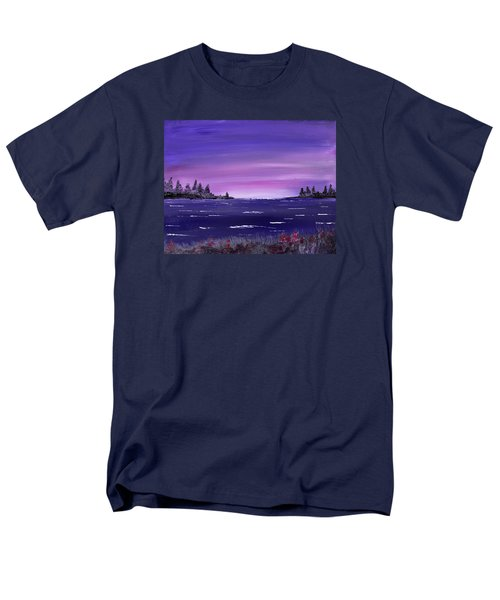 Lavender Sunrise Men's T-Shirt  (Regular Fit) by Jack G Brauer