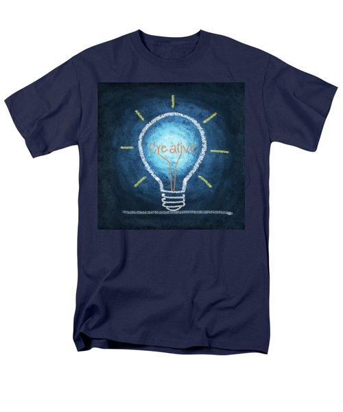 light bulb design T-Shirt by Setsiri Silapasuwanchai