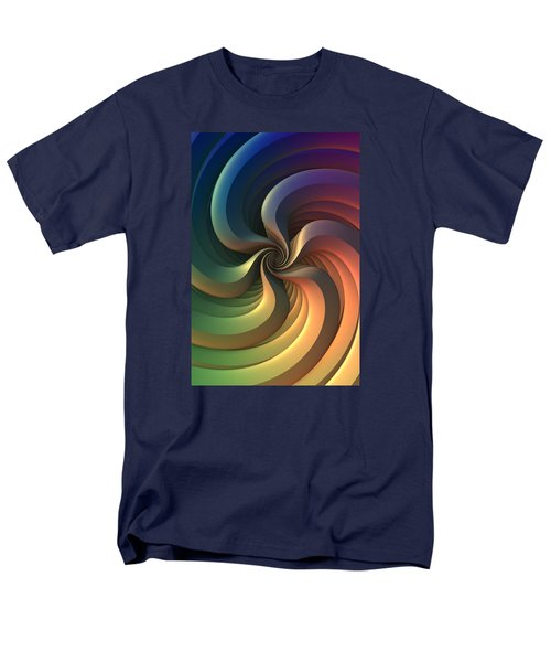 Men's T-Shirt  (Regular Fit) featuring the digital art Maelstrom by Lyle Hatch