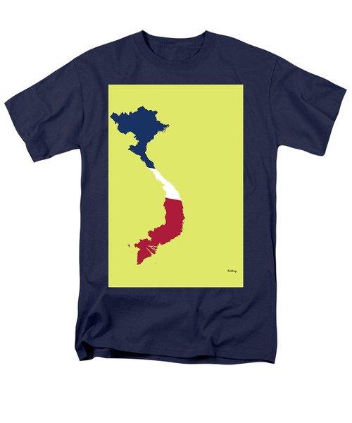 Men's T-Shirt  (Regular Fit) featuring the digital art Music Notes 17 by David Bridburg