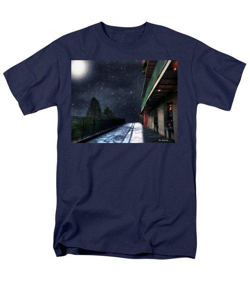Nightwalk Men's T-Shirt  (Regular Fit) by RC deWinter