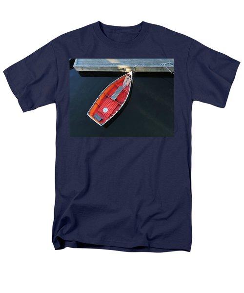 Orange Dinghy Men's T-Shirt  (Regular Fit)