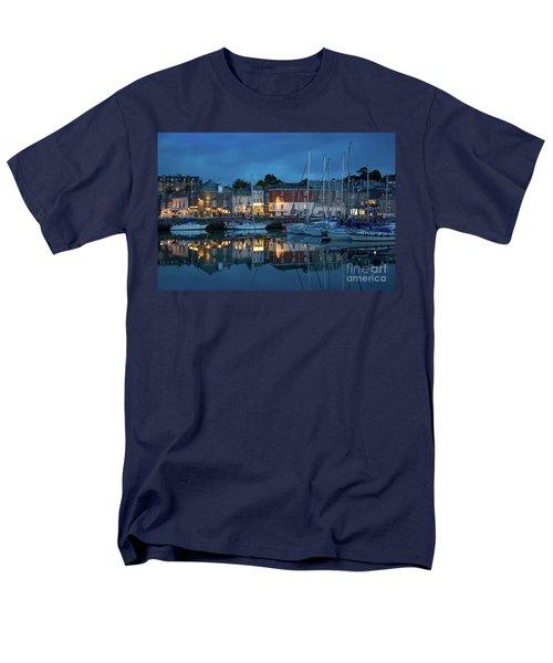 Men's T-Shirt  (Regular Fit) featuring the photograph Padstow Evening by Brian Jannsen